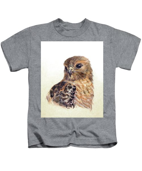 Red-shouldered Hawk Kids T-Shirt