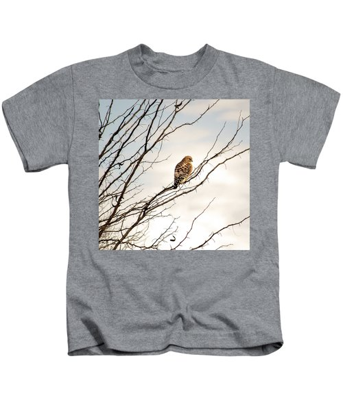 Red-tailed Hawk Kids T-Shirt