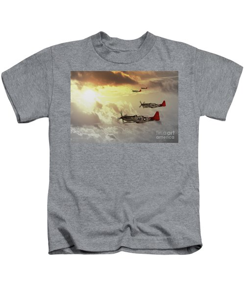 Red Tails Kids T-Shirt