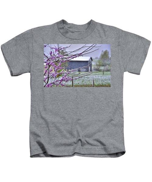Redbud Winter Kids T-Shirt