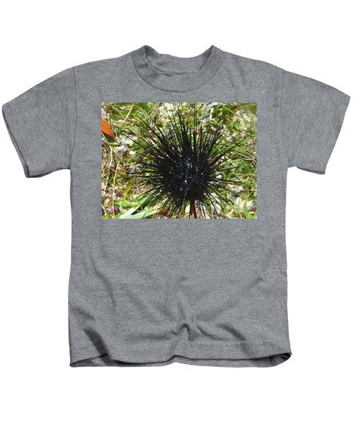 Reef Life - Sea Urchin 1 Kids T-Shirt by Exploramum Exploramum