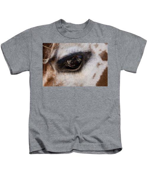 Reflection Of A Friend Kids T-Shirt
