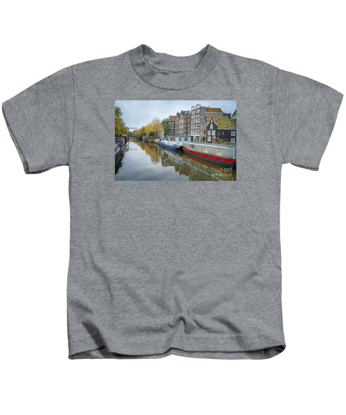 Reflections Of Amsterdam Kids T-Shirt
