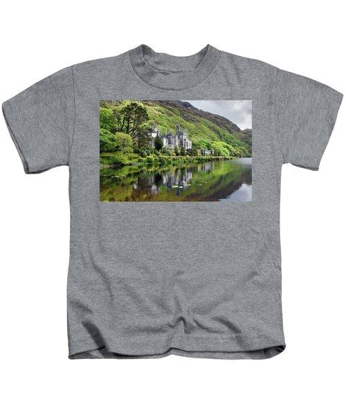 Reflections Of Kylemore Abbey Kids T-Shirt