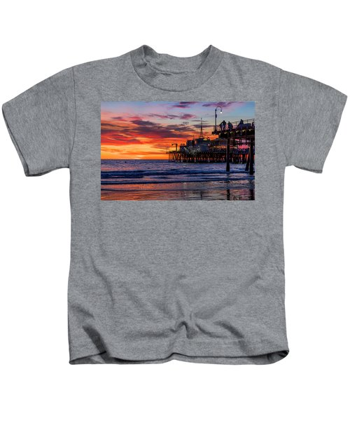 Reflections Of The Pier Kids T-Shirt