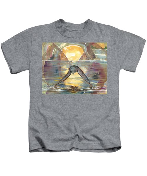 Reflections Swallowed Kids T-Shirt