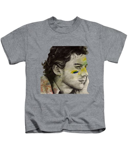 Rei Do Brasil - Tribute To Ayrton Senna Da Silva Kids T-Shirt
