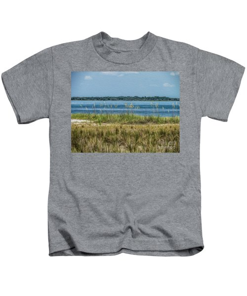 Relaxing On The Island Kids T-Shirt