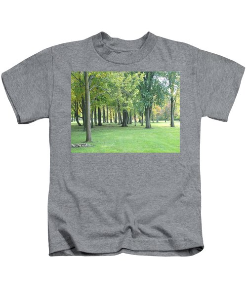 Relaxing Tranquility Kids T-Shirt