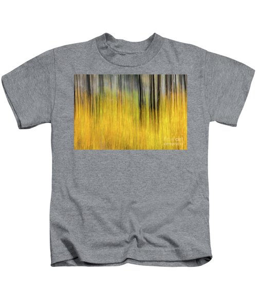 Renewal Abstract Art By Kaylyn Franks Kids T-Shirt