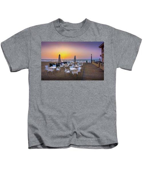 Restaurant Sunrise, Spain. Kids T-Shirt