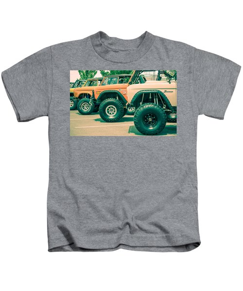 Retro Bronco Heaven Kids T-Shirt