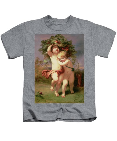 Returning Before The Storm, 1850 Kids T-Shirt