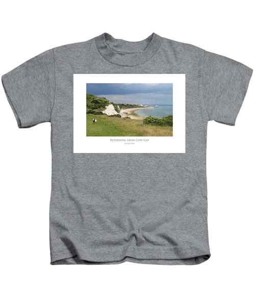 Returning From Cow Gap Kids T-Shirt