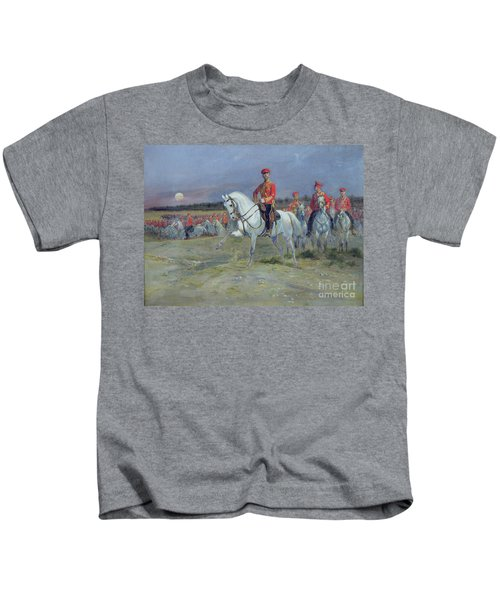 Reviewing The Troops Kids T-Shirt