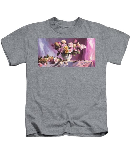 Rhapsody Of Roses Kids T-Shirt