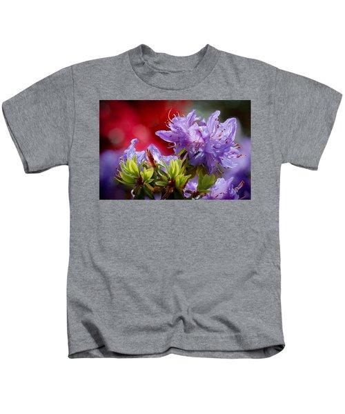 Rhododendron Bluebird Kids T-Shirt