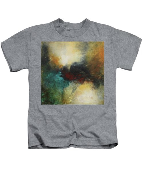 Rich Tones Abstract Painting Kids T-Shirt