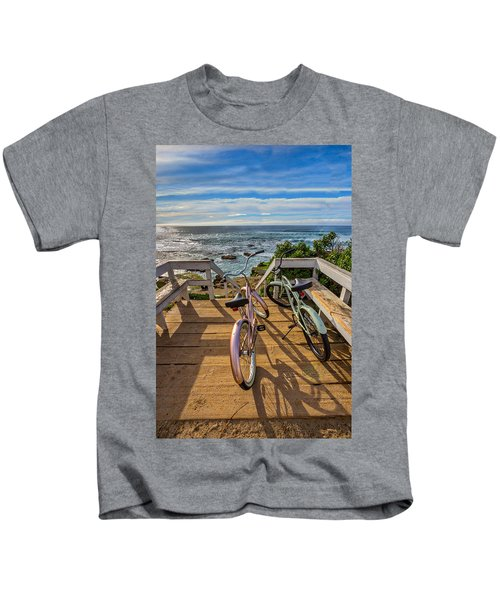 Ride With Me To The Beach Kids T-Shirt