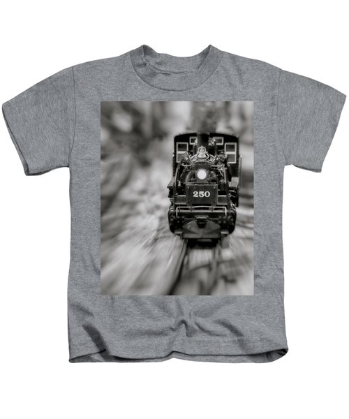 Riding The Railways Kids T-Shirt