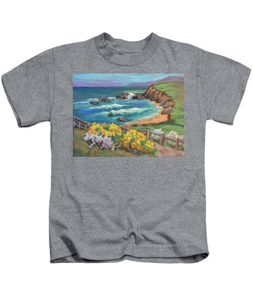 Ritz Carlton At Half Moon Bay Kids T-Shirt