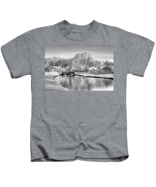River In The Snow Kids T-Shirt