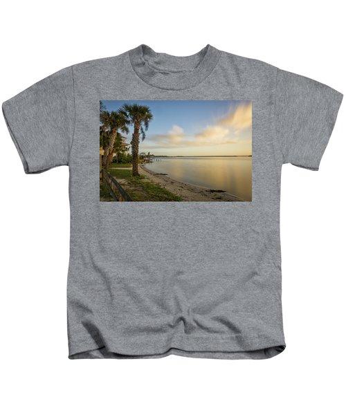 River Road  Sunrise  Kids T-Shirt