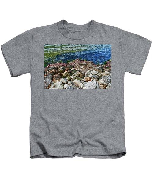 River Rocks Kids T-Shirt