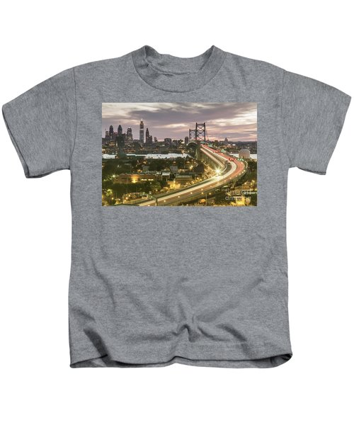 Road To Brotherly Love Kids T-Shirt