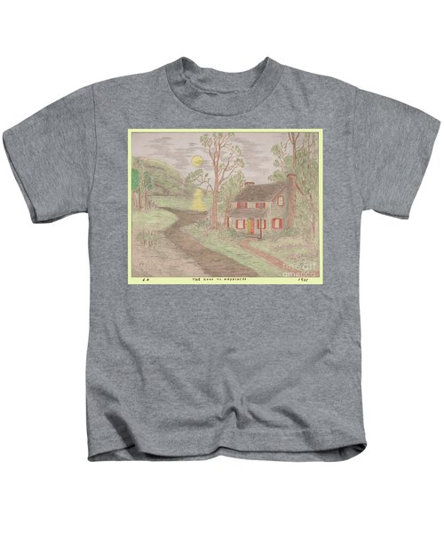 Road To Happiness Kids T-Shirt