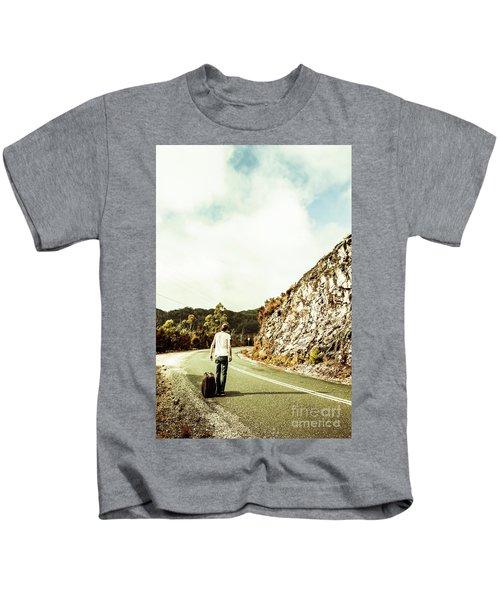Road Tripping Tasmania Kids T-Shirt