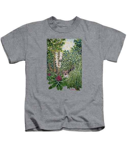 Rocke's Garden Clothing Kids T-Shirt by Jim Rehlin