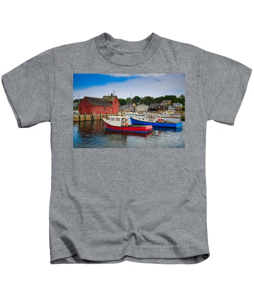 Rockport Harbor 2 Kids T-Shirt