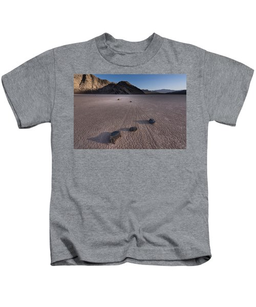 Rocks On The Racetrack Death Valley Kids T-Shirt