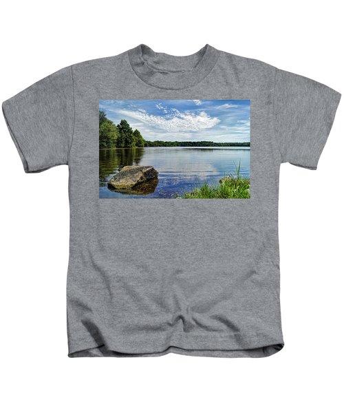 Rocky Fork Lake Kids T-Shirt
