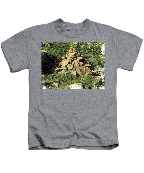Rocky Mountain Cairn Kids T-Shirt