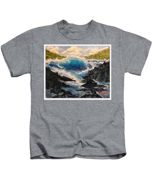 Rocky Sea Kids T-Shirt