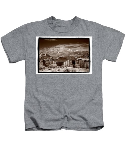 Rooflines Bodie Ghost Town Kids T-Shirt