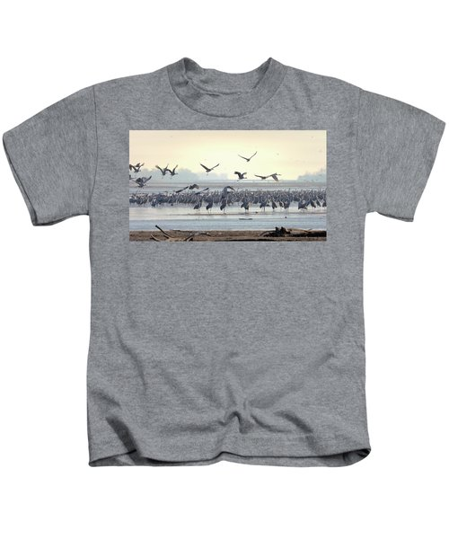 Roosting On The Platte Kids T-Shirt