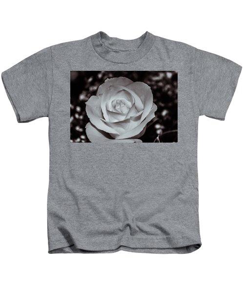 Rose B/w - 9166 Kids T-Shirt