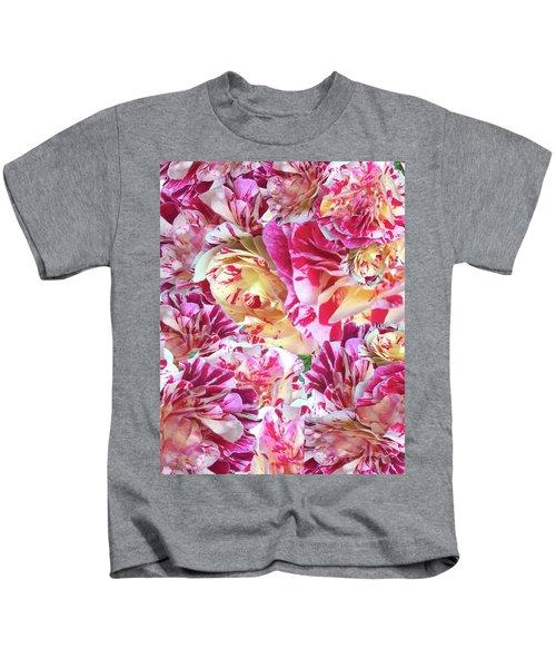 Rose Collage Kids T-Shirt