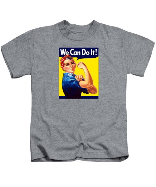 Rosie The Rivetor Kids T-Shirt by War Is Hell Store