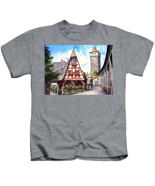 Rothenburg Memories Kids T-Shirt
