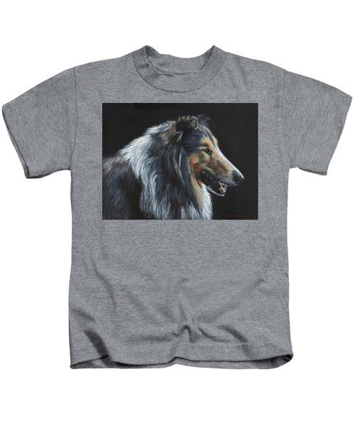 Rough Collie Kids T-Shirt