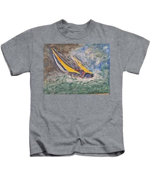 Rough Seas Kids T-Shirt