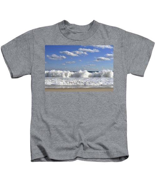 Rough Surf Jersey Shore  Kids T-Shirt