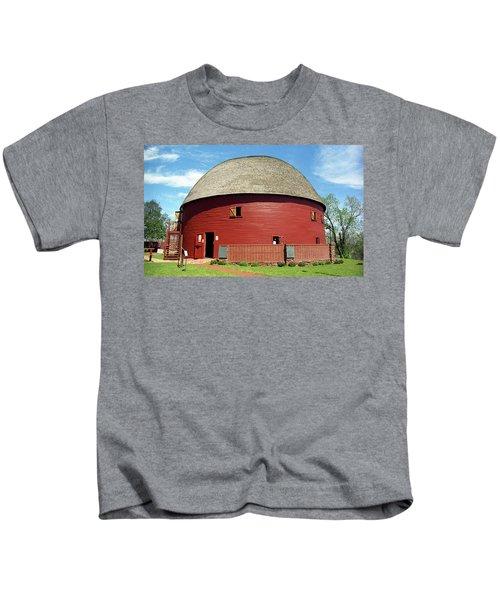 Route 66 - Round Barn Kids T-Shirt