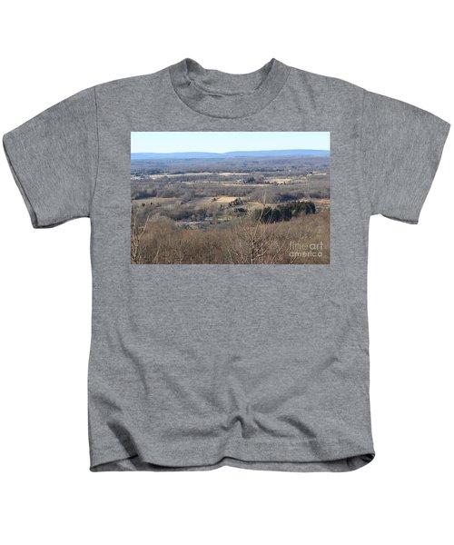 Rt 80 Scenic Ovelook Allamuchy 2 Kids T-Shirt