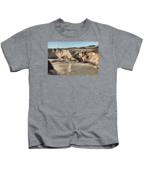 Rugged Coastline Kids T-Shirt