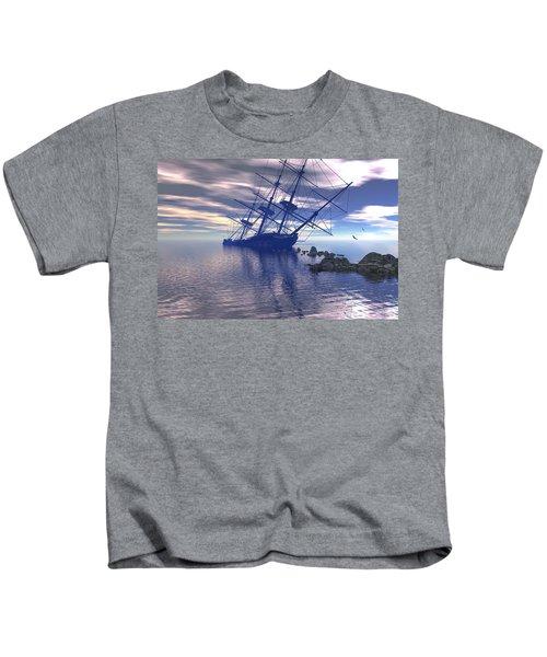Run Aground Kids T-Shirt